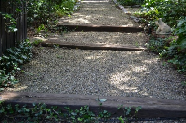 Stone Garden Path Ideas design a stepping stone path ideas images tips and advice Line Your Path With Stones
