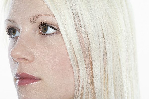 Use the 'total bleach' method to completely cover your original hair color.