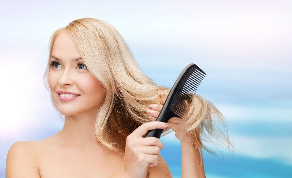Clean your combs, or they'll make your hair dirtier instead of cleaner.
