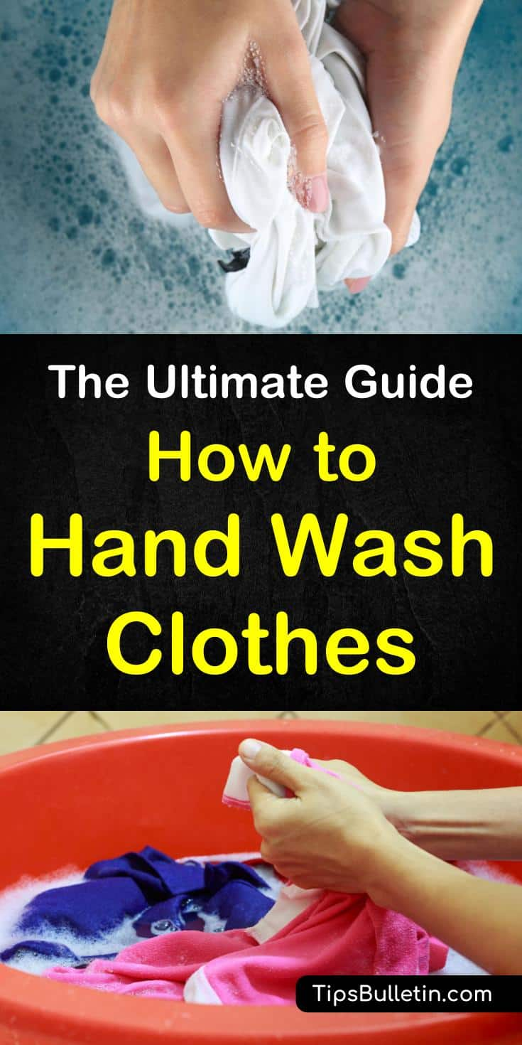 How To Hand Wash Clothes The Ultimate Guide