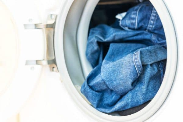 Using Dylon (or a similar dye) is a crucial component for dyeing jeans.