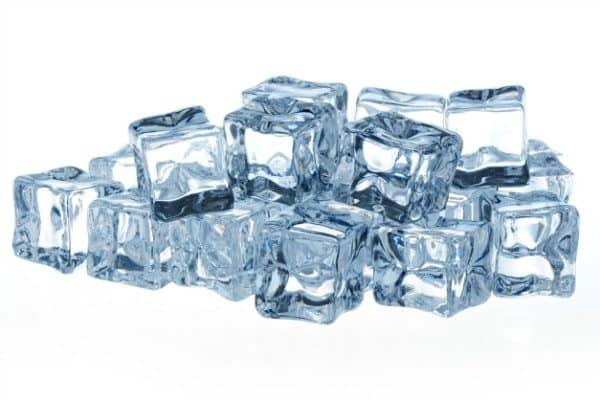Ice cubes are one way of how to clean a kitchen sink, as they keep your garbage disposal clean and effective.