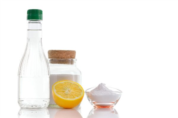 Baking soda and vinegar are also an effective way to unclog a kitchen sink.