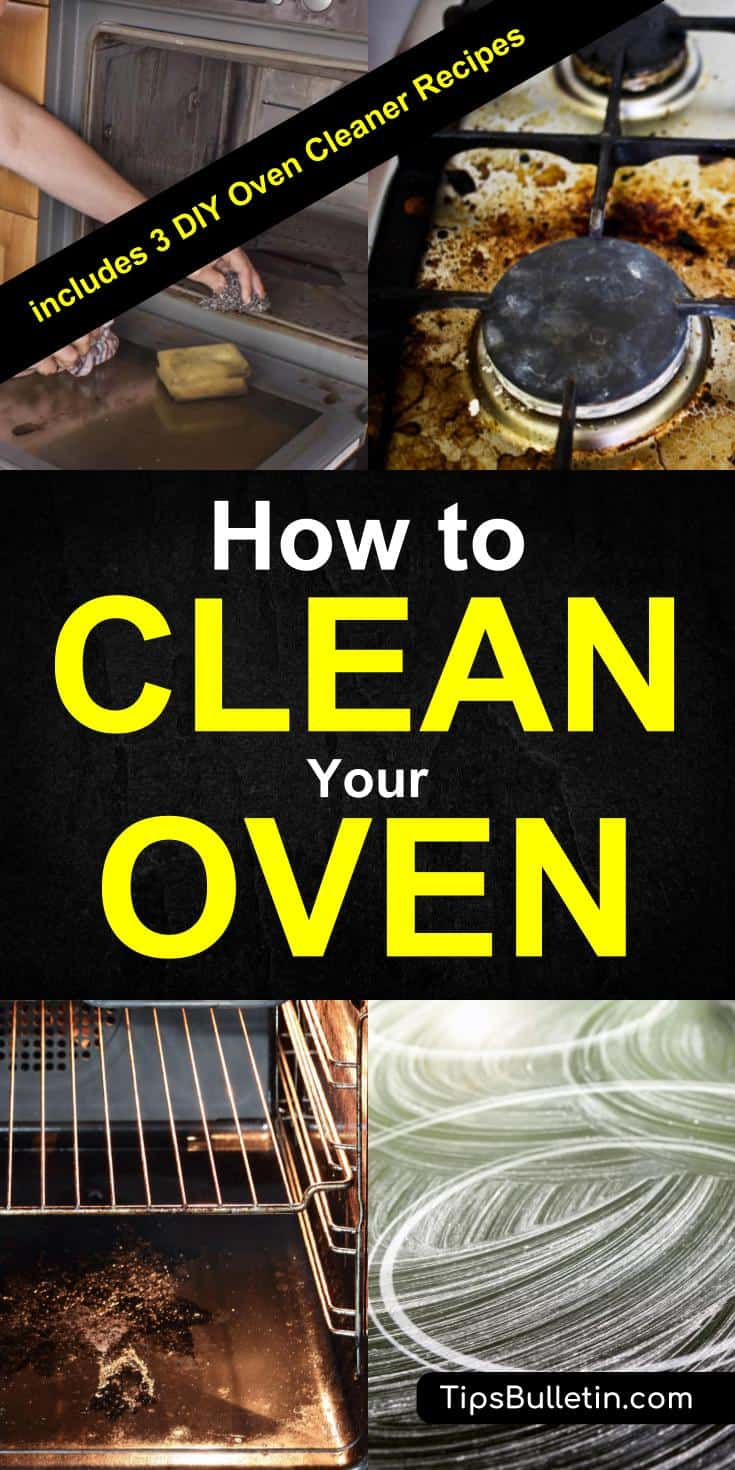 How to clean an oven from the stove top to between the How to clean top of oven