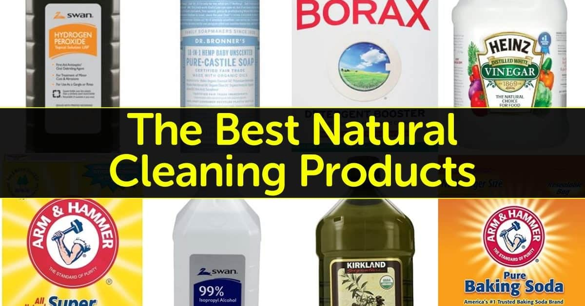the best natural cleaning products for your home