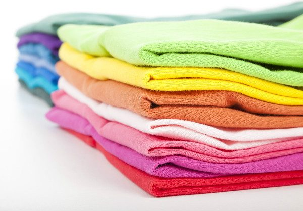 Have a bright wardrobe? Here's how to wash colorful clothes.