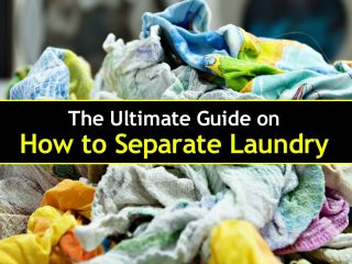 step by step guide on how to separate laundry