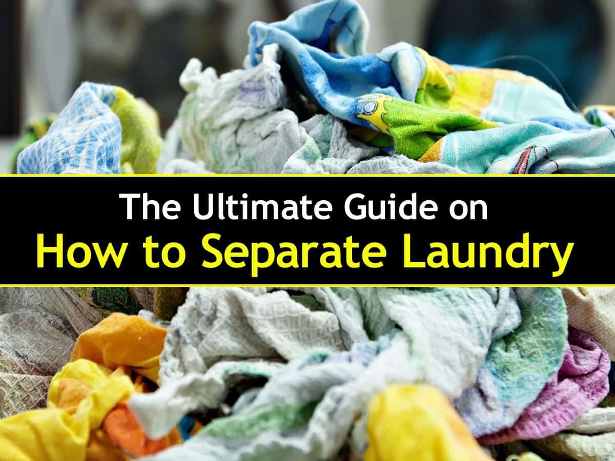 18+ Clever Ways to Separate Laundry So Everything Gets Clean