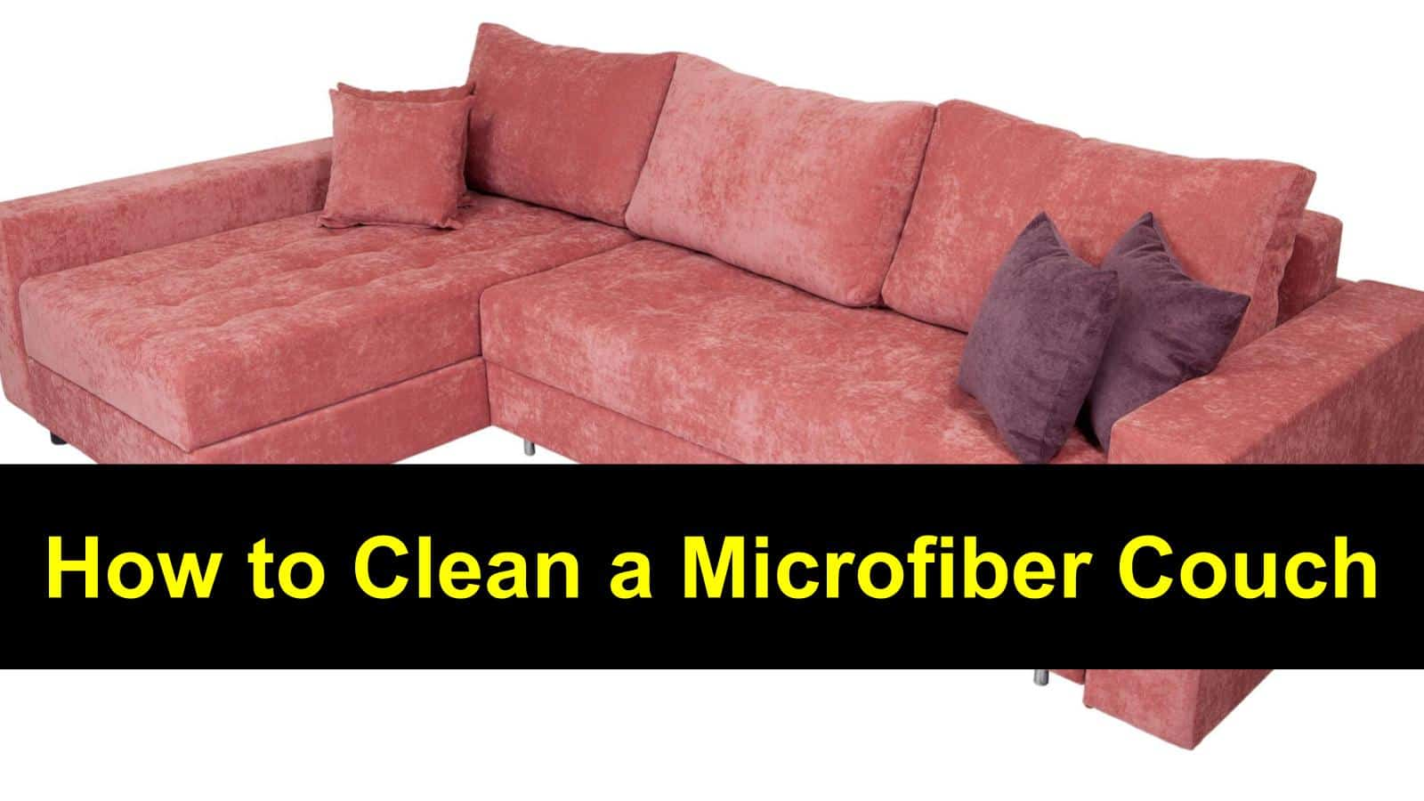 How To Clean A Microfiber Couch Image