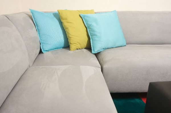 How to clean a suede couch: remove stains as quickly as possible so they don't have time to set.