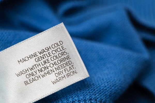 Look at the care tags. Knowing how to wash delicates is different from, say, knowing how to wash dark jeans.