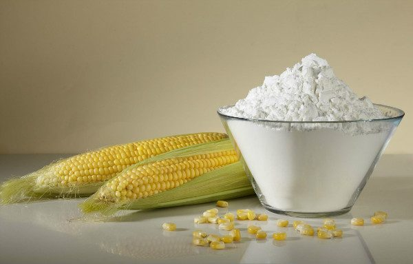 Corn starch can help remove grease stains from clothing.