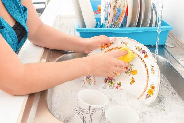 Need a home remedy to get grease stains out of clothing? Dish soap can work wonders on fabric.