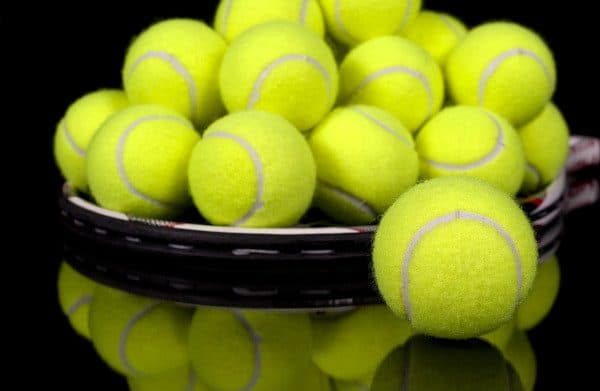 Using tennis balls in your dryer will help fluff your pillows.