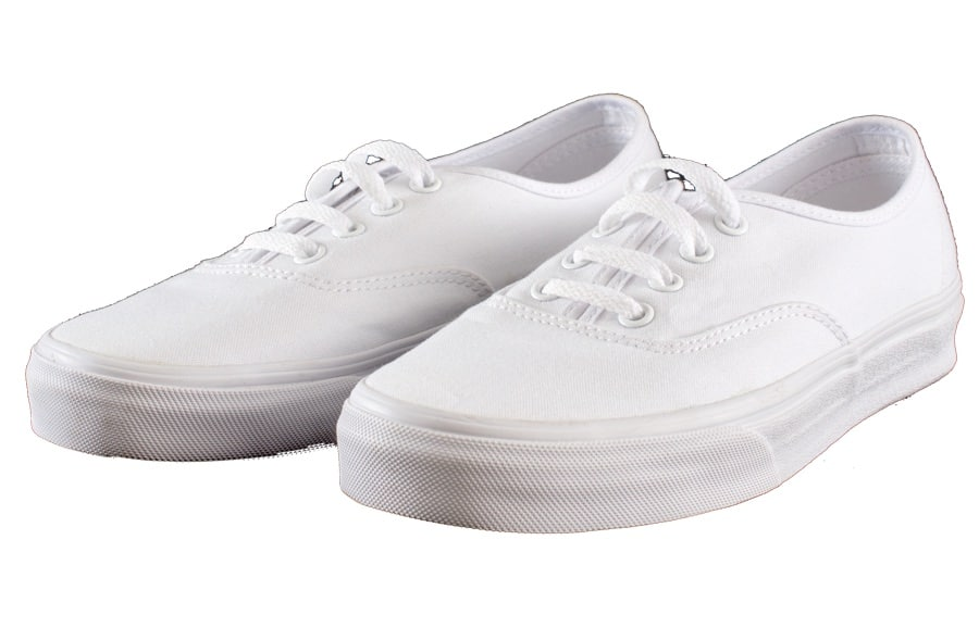 The washing machine is not the only one way of how to clean white fabric shoes.