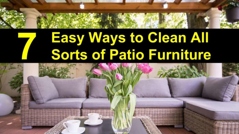Pin It On Pinterest. How To Clean Patio Furniture Img