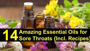 14 Amazing Essential Oils for Sore Throat {Incl. Recipes}