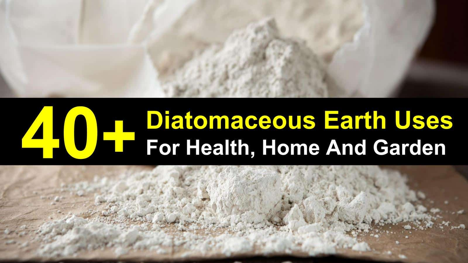40 amazing diatomaceous earth uses for health home and - How to use diatomaceous earth in the garden ...