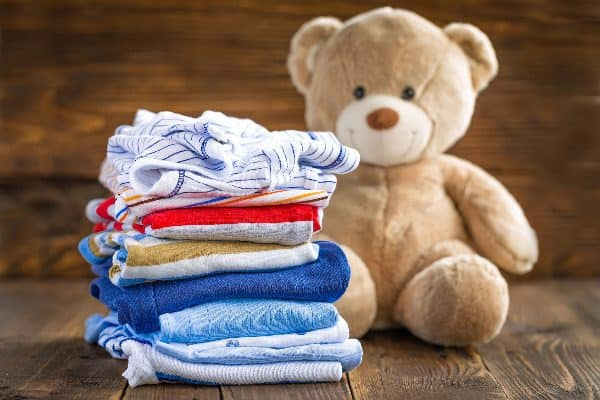 Washing your baby cloths is one of the many baking soda uses and benefits