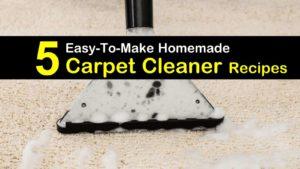 5 Easy-to-Make Homemade Carpet Cleaner