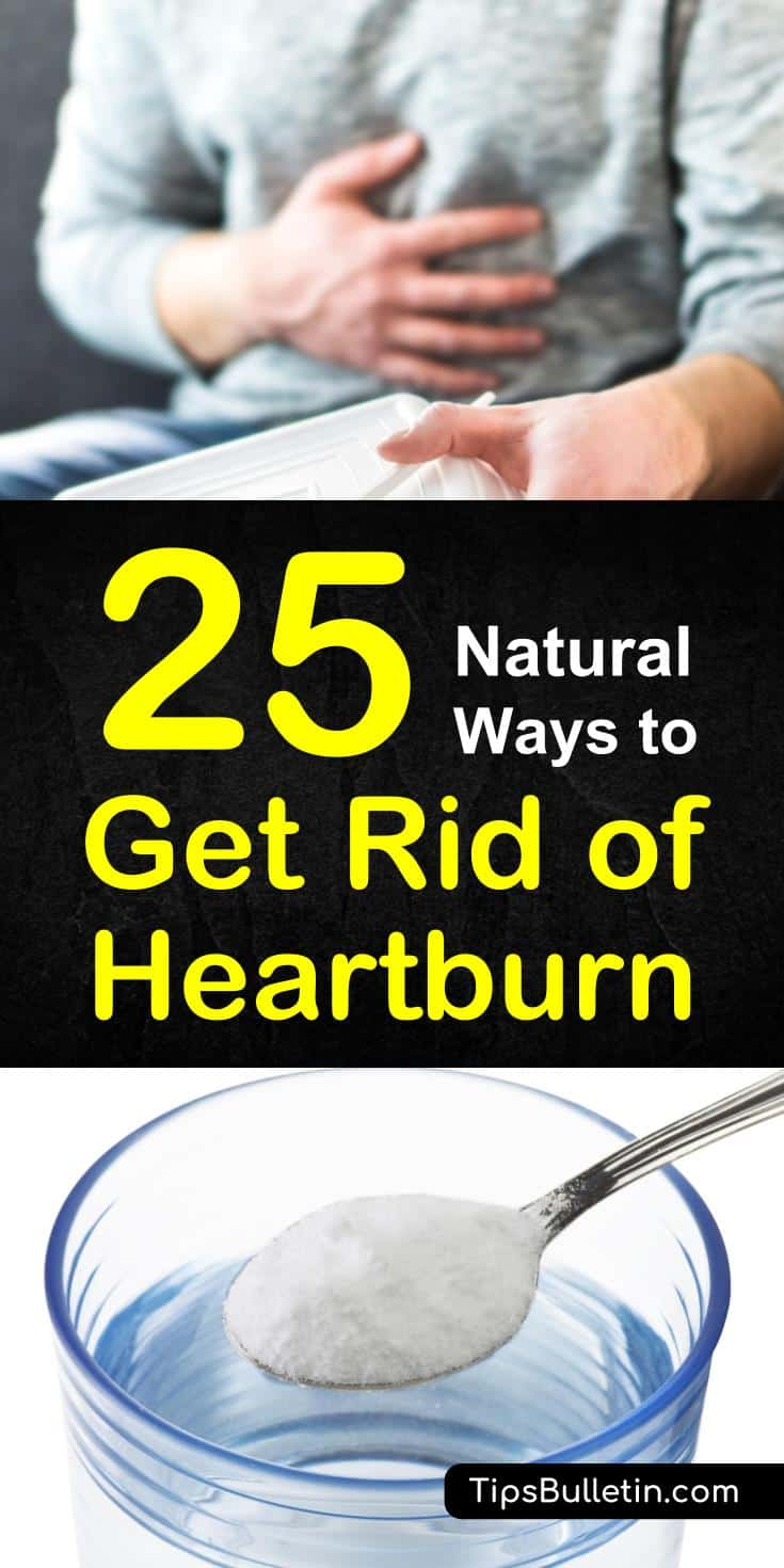 Discover natural ways to get rid of heartburn using common ingredients like baking soda, ginger, and apple cider vinegar. Use natural remedies and recipes to find relief from heartburn. Also, learn the symptoms of heartburn and how you can prevent it with your diet. #heartburnrelief #heartburn