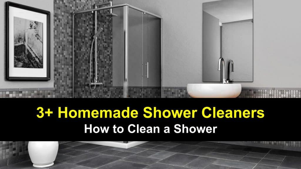 In this article, we're looking at homemade shower cleaners.