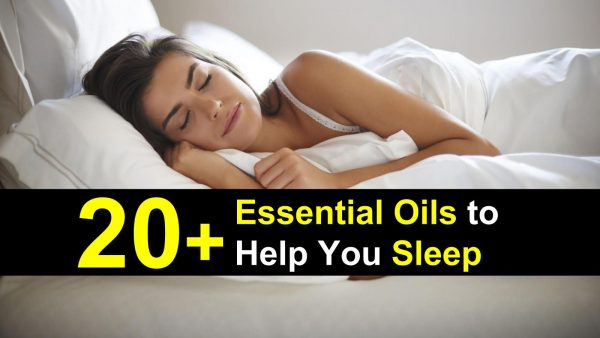 essential oils for sleep title img