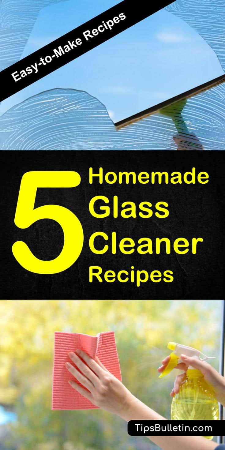 5 Amazing Homemade Glass Cleaner Recipes
