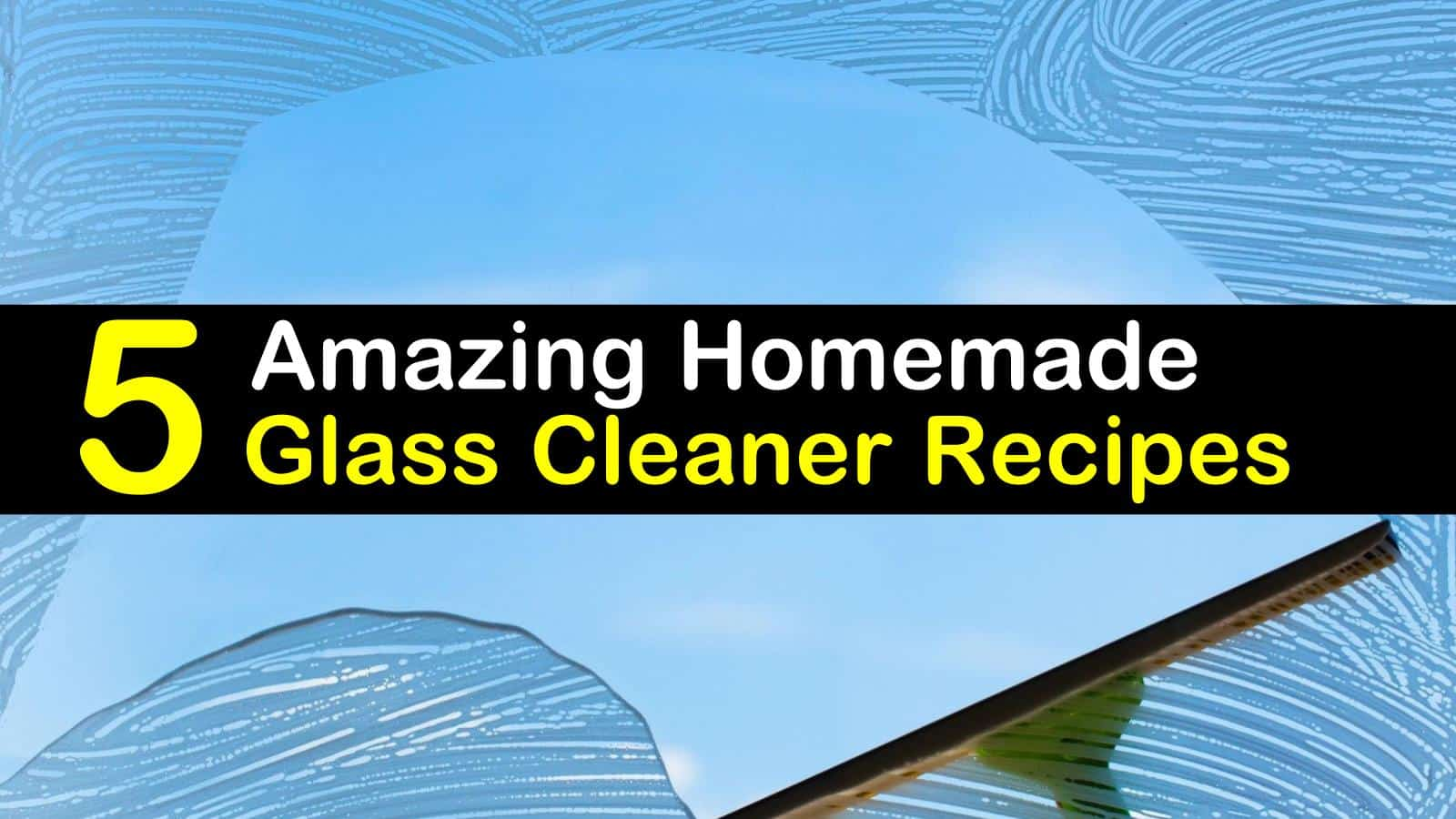 best diy car window cleaner