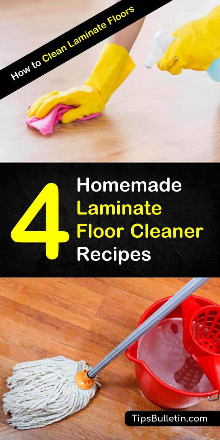 Learn How To Clean Laminate Floors Using Diy Recipes That Include Rubbing Alcohol Baking Soda
