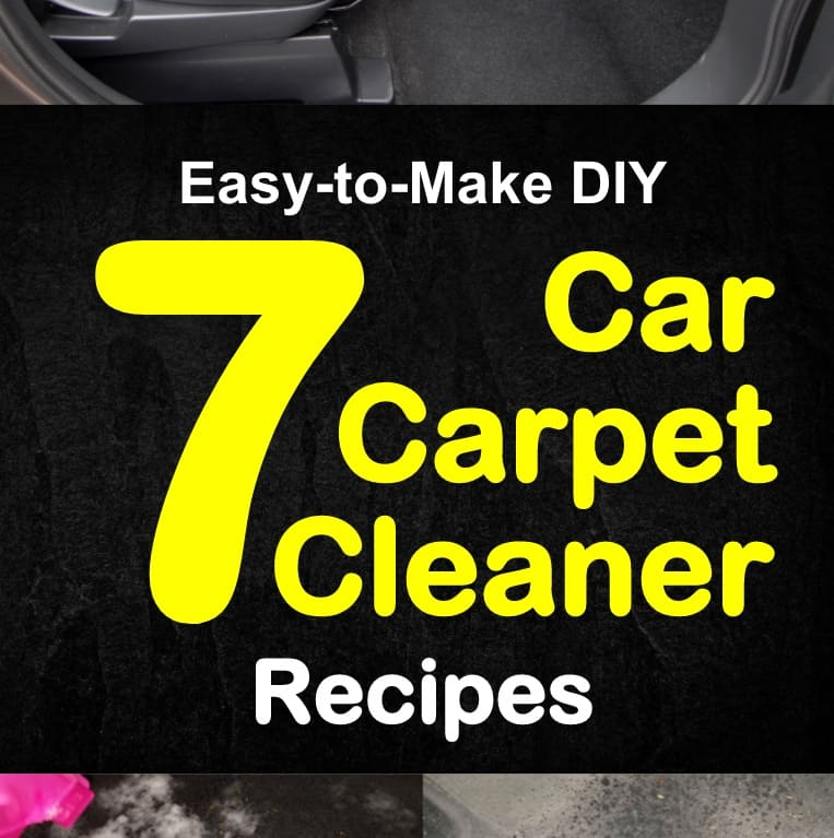 7 Easy To Make Diy Car Carpet Cleaner Recipes