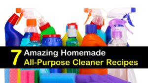 7 Amazing Homemade All Purpose Cleaner Recipes