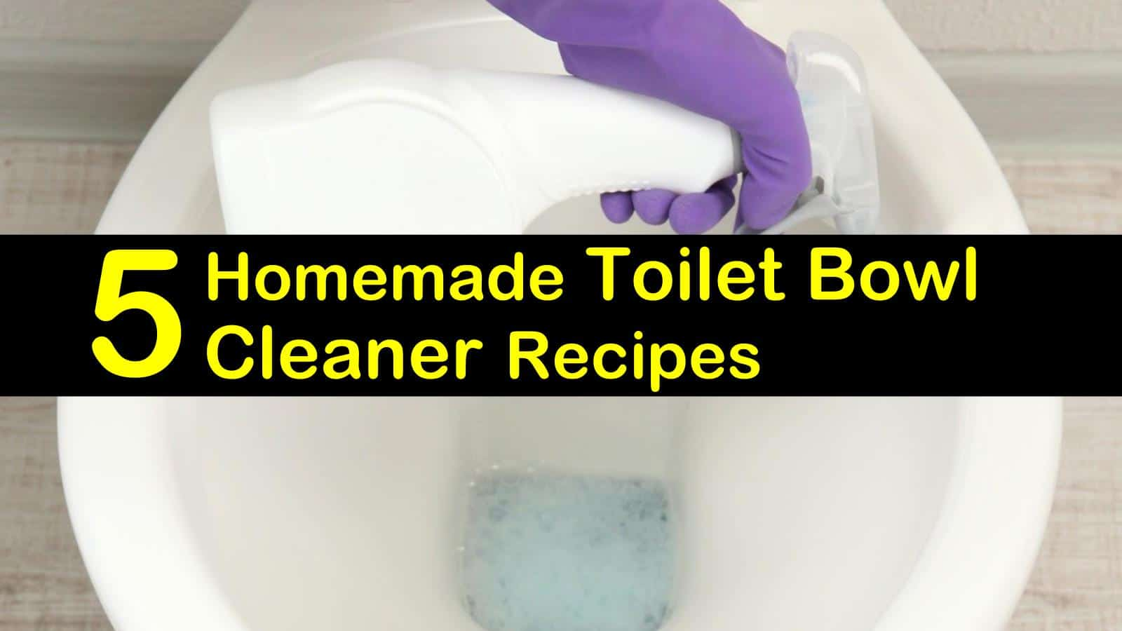 Fine 5 Excellent Homemade Toilet Bowl Cleaner Recipes Inzonedesignstudio Interior Chair Design Inzonedesignstudiocom