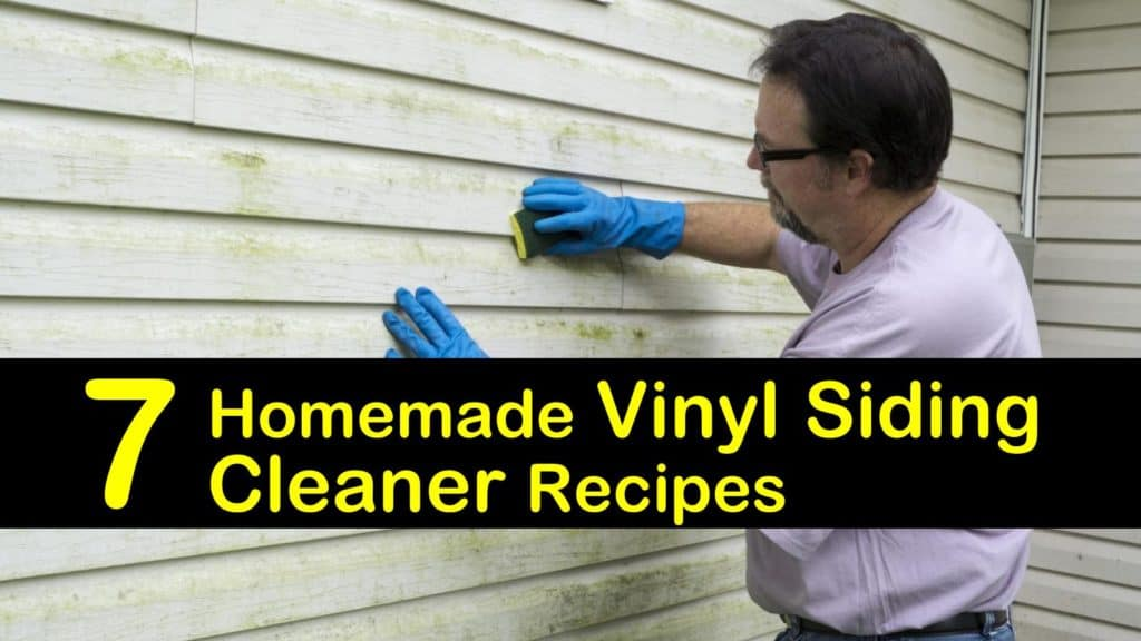 7 Homemade Vinyl Siding Cleaner Recipes