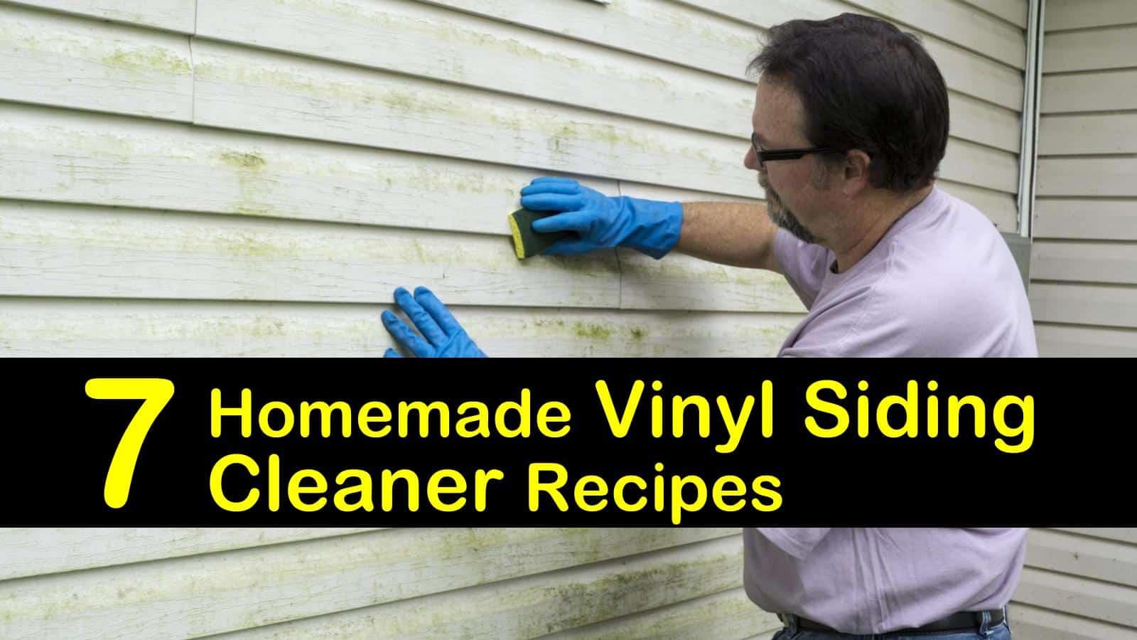 homemade vinyl siding cleaner titilimg