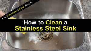 how to clean a stainless steel sink titleimg1