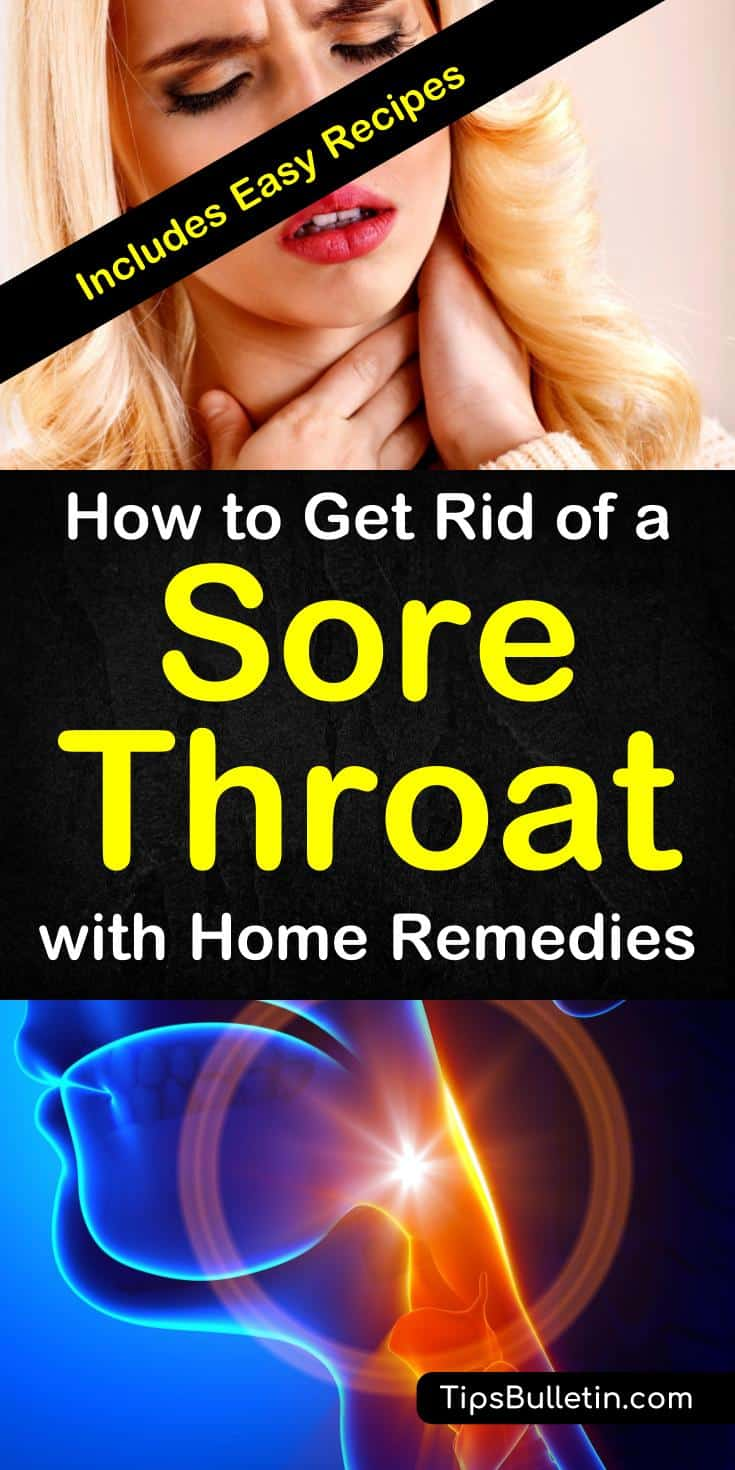 How To Get Rid Of A Sore Throat With Home Remedies Recipes