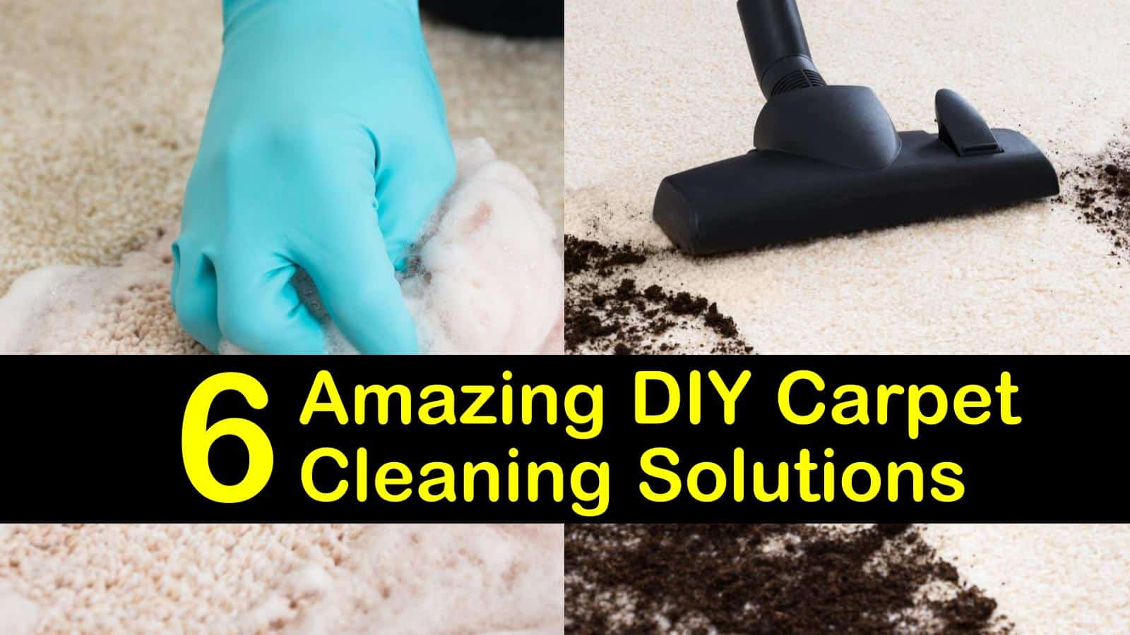 6 amazing diy carpet cleaning solutions
