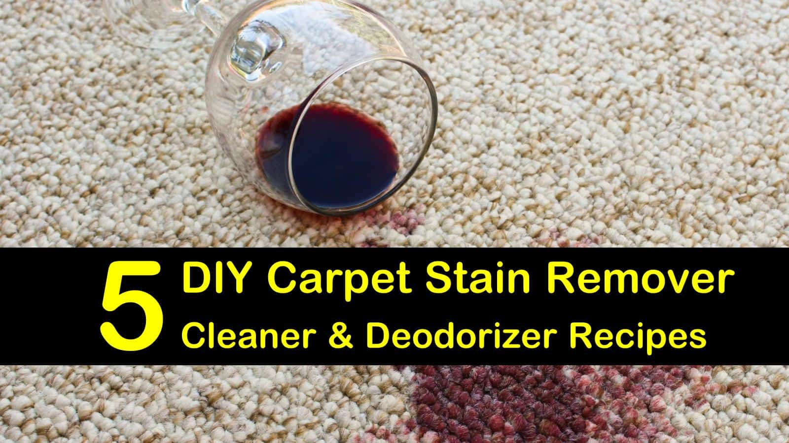 5 Diy Carpet Stain Remover Cleaner And Deodorizer Recipes