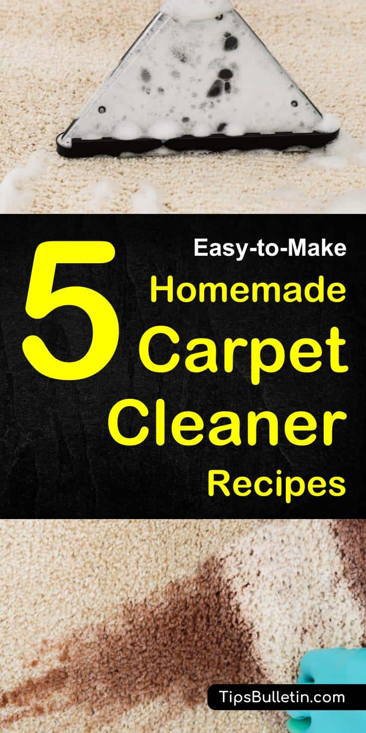 5 easy to make homemade carpet cleaner diy homemade carpet cleaner recipes for manual and machine use including carpet spot remover recipe solutioingenieria Image collections
