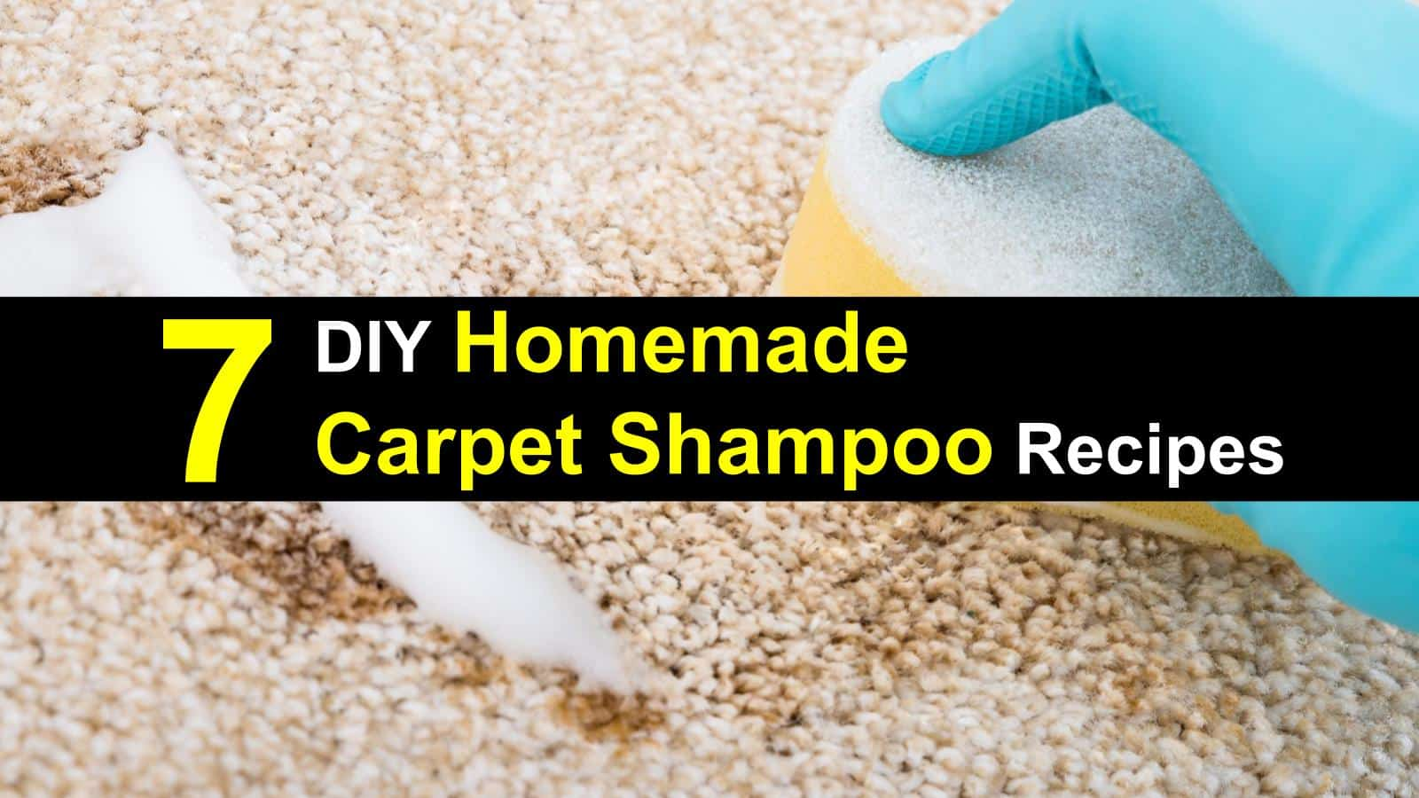 Stop Ing Expensive Carpet Cleaning Solution Use These Diy Shampoo Recipes To Get Your