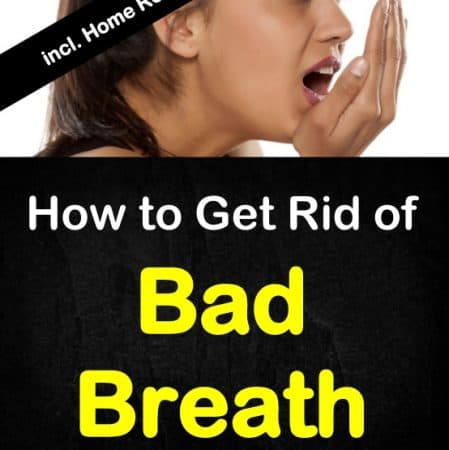 home remedies on how to get rid of bad breath