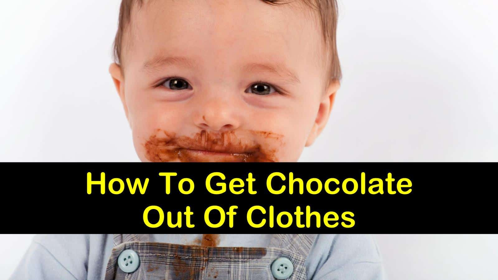 how to get chocolate out of clothes titlimg