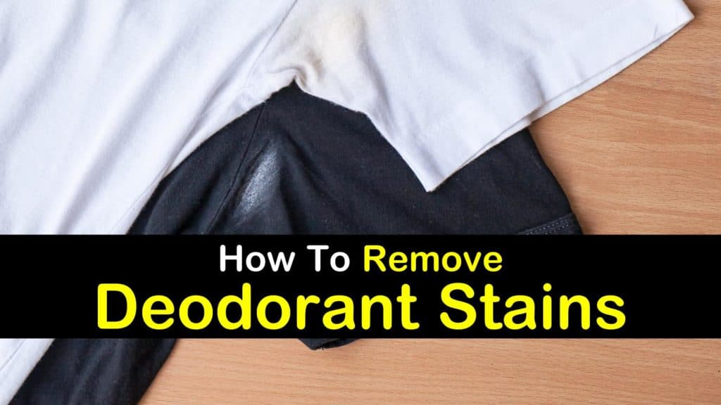 How to remove deodorant stains for How do u get yellow stains out of white shirts