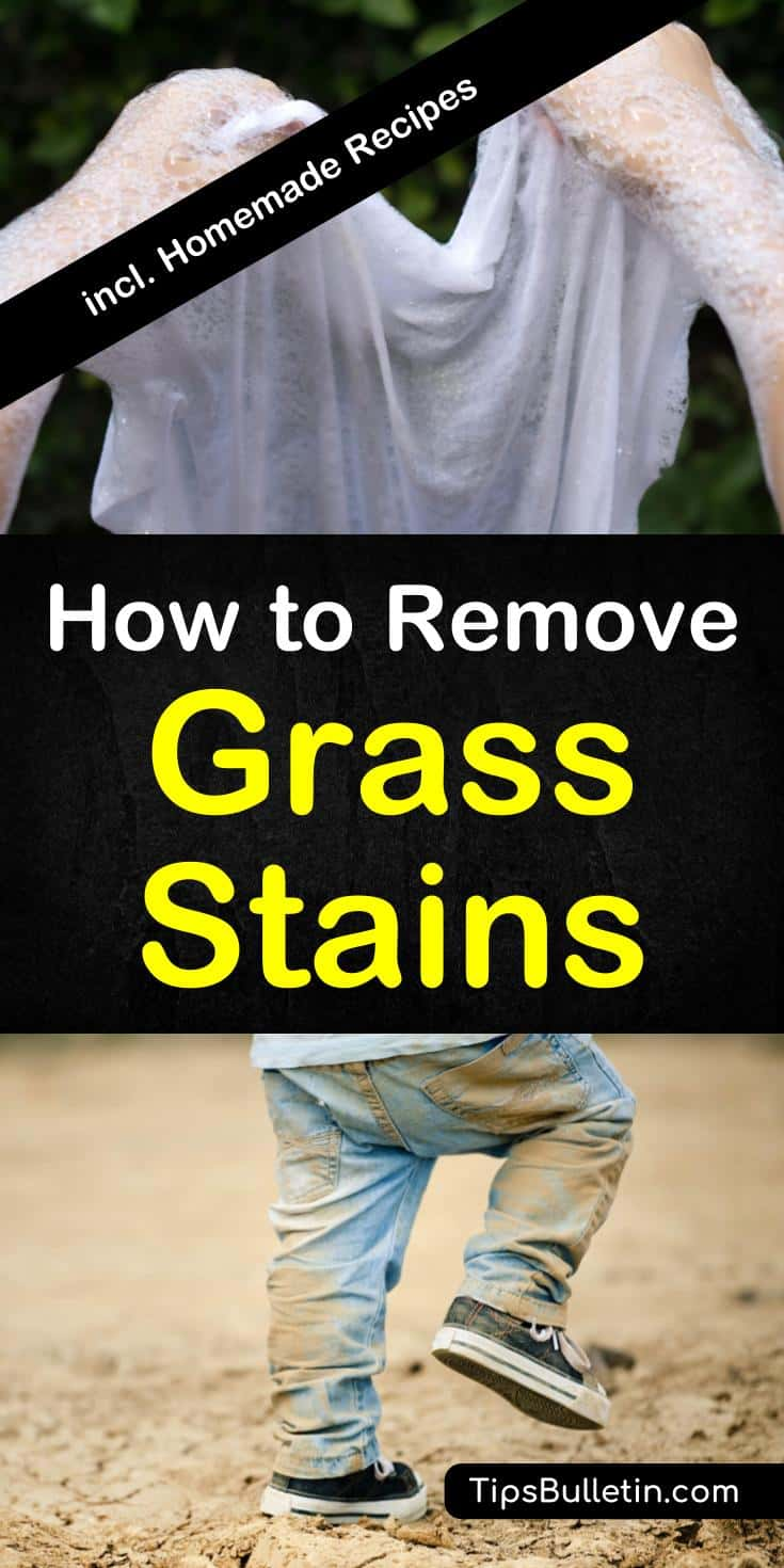 Tips And Tricks On How To Remove Grass Stains From Clothes Including Jeans Shoes