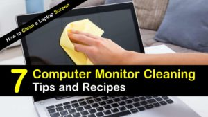 7 Computer Monitor Cleaning Tips and Recipes – How to Clean a Laptop Screen