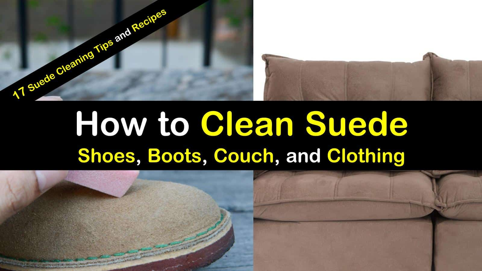 How to Clean Suede Shoes Tips images