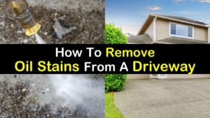 how to remove oil stains from driveway titlimg1