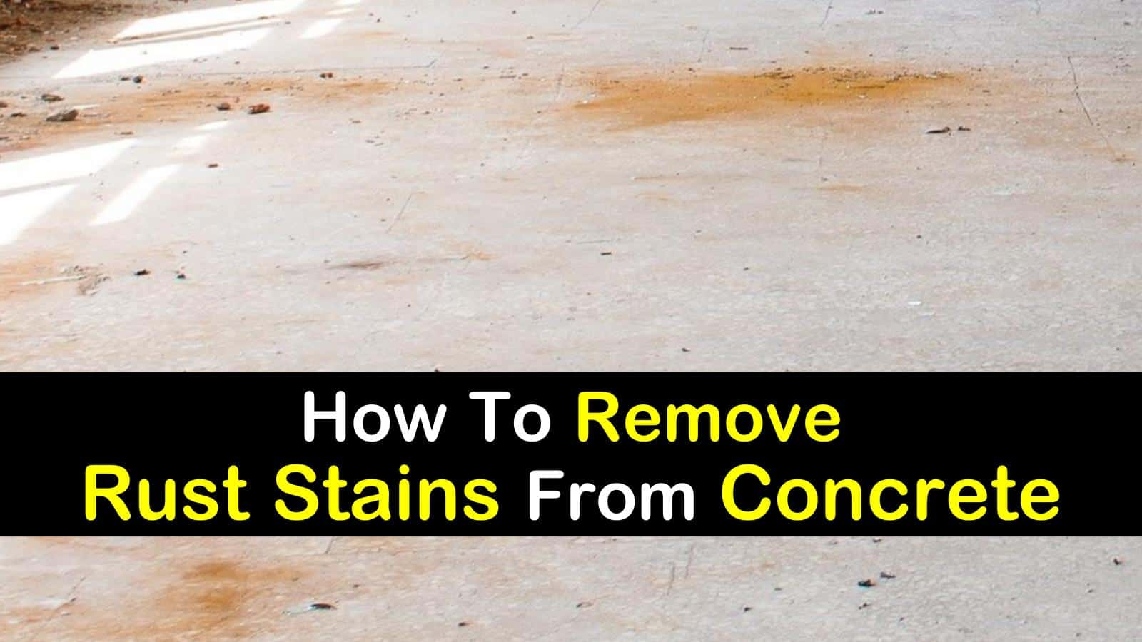 how to remove rust stains from concrete titilimg