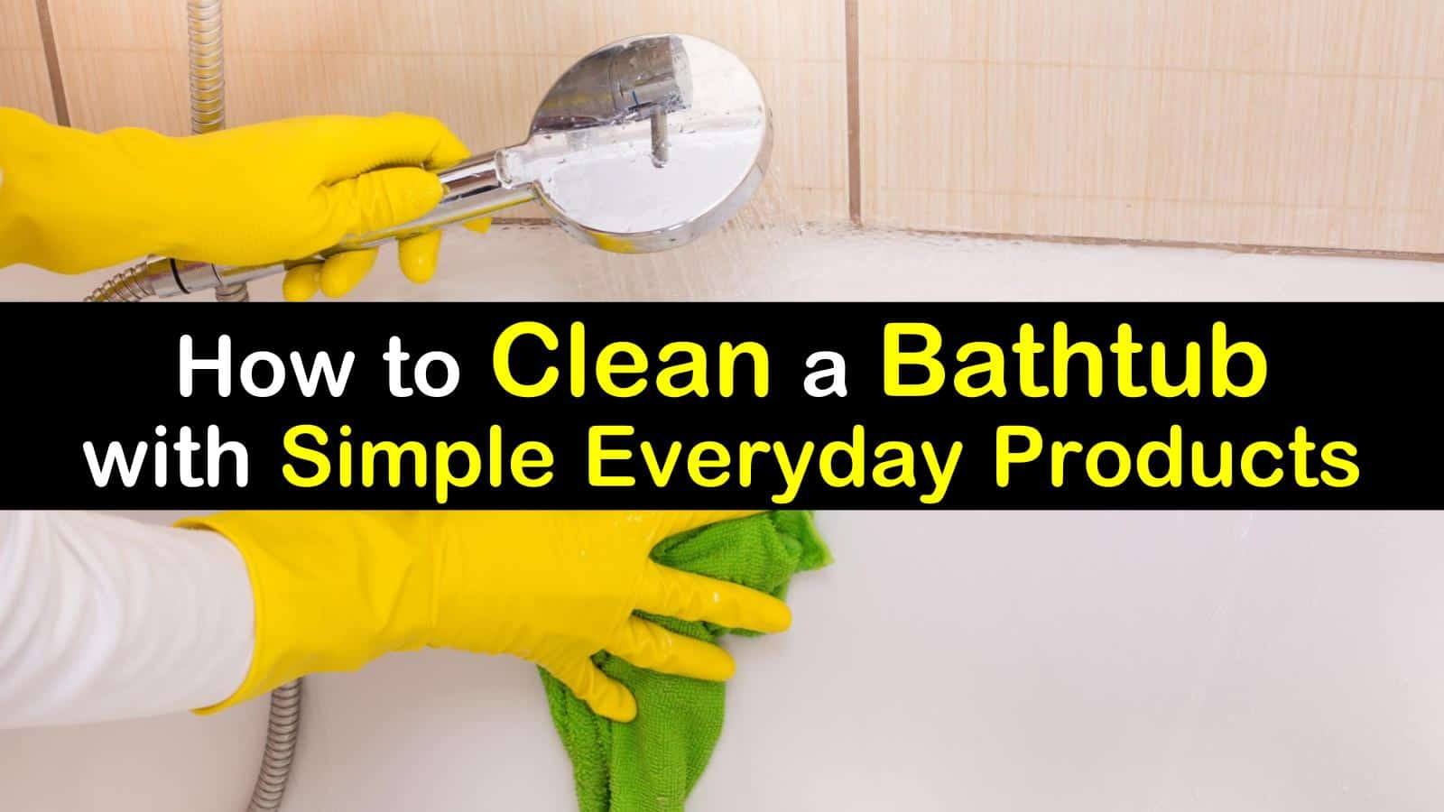 titleimg1 how to clean a bathtub